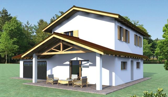 Casa pensieri e parole sulla nostra immagine di casa for Kit di casa a 2 piani