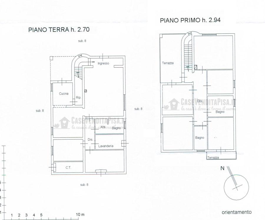 Villa singola di 290 mq con giardino in vendita a lugnano for Planimetrie a un piano aperto