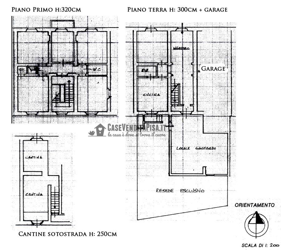 villa liberty in vendita a pisa zona landi ideale per b b