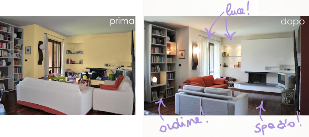 home staging Pisa - Il prima e il dopo