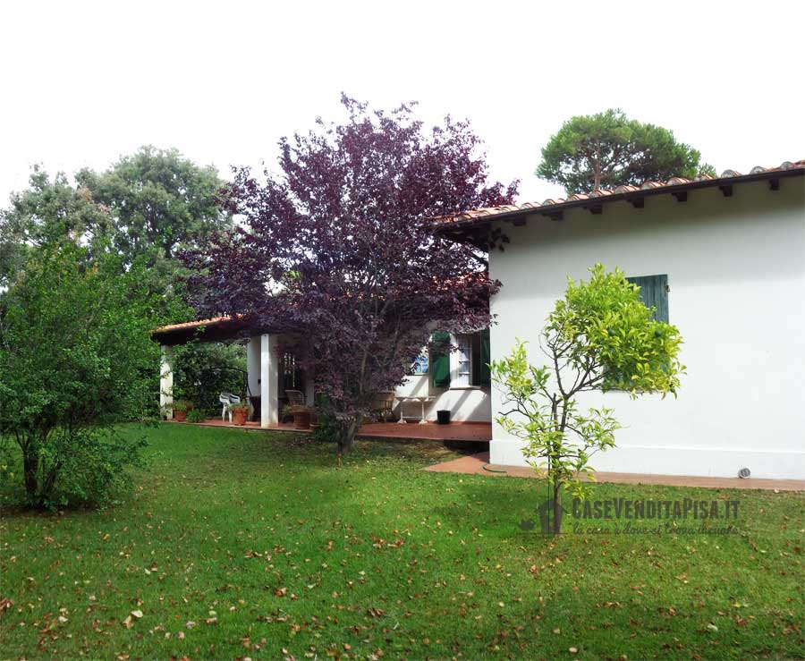 Villa singola con giardino in vendita a tirrenia - Casa con giardino pisa ...