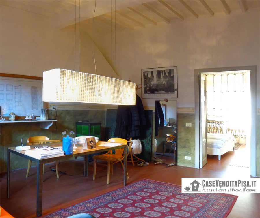 Vendita Terratetto laterale ristrutturato da architetto a Pisa zona Sant'ermete