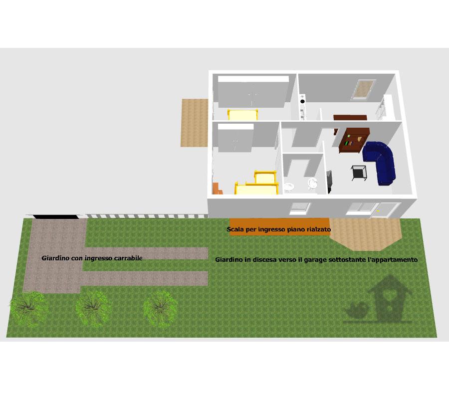 Casa in vendita zona san giusto a pisa con giardino e garage for Garage di casa